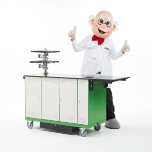 Prof Pots and the ExplorerLAB mobile science cart